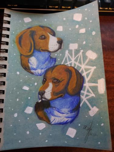 Beagles Portrait